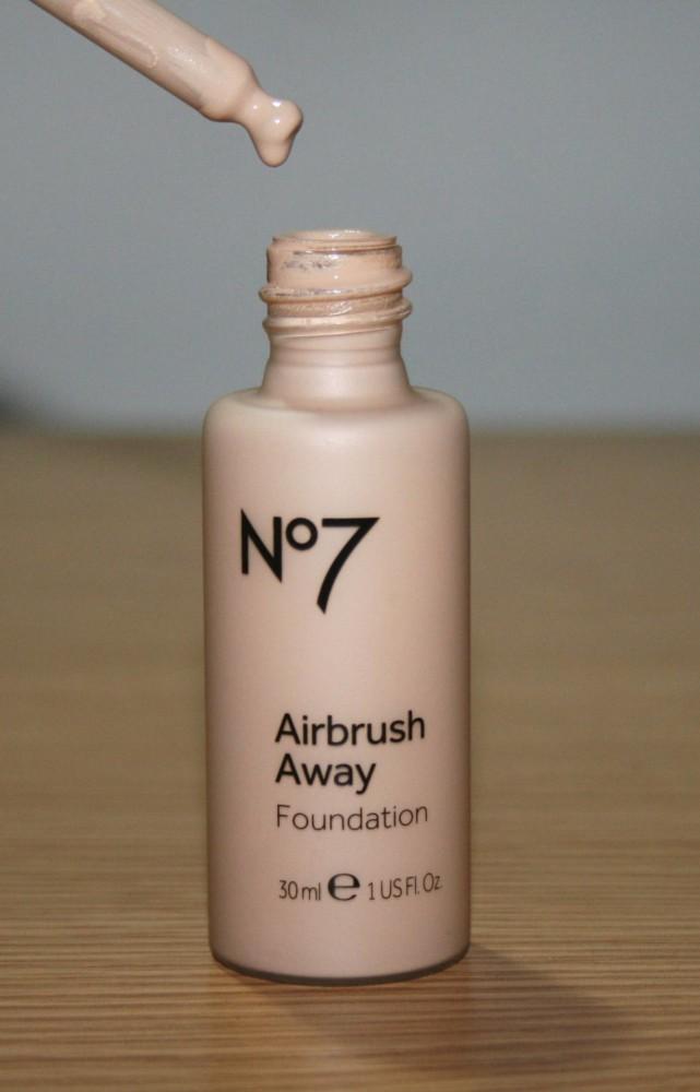 Boots No7 Airbrush Away Foundation Reviews