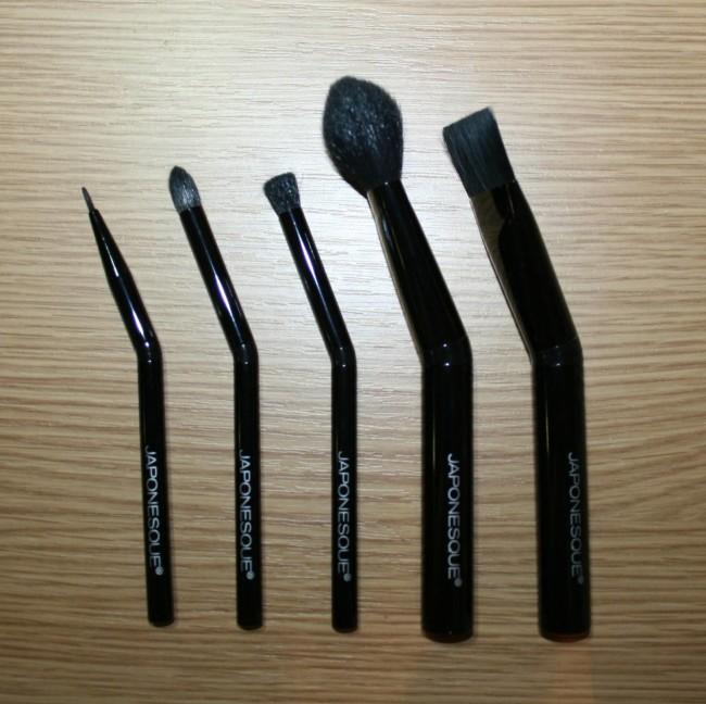 Japonesque Brush Set Angled Handles