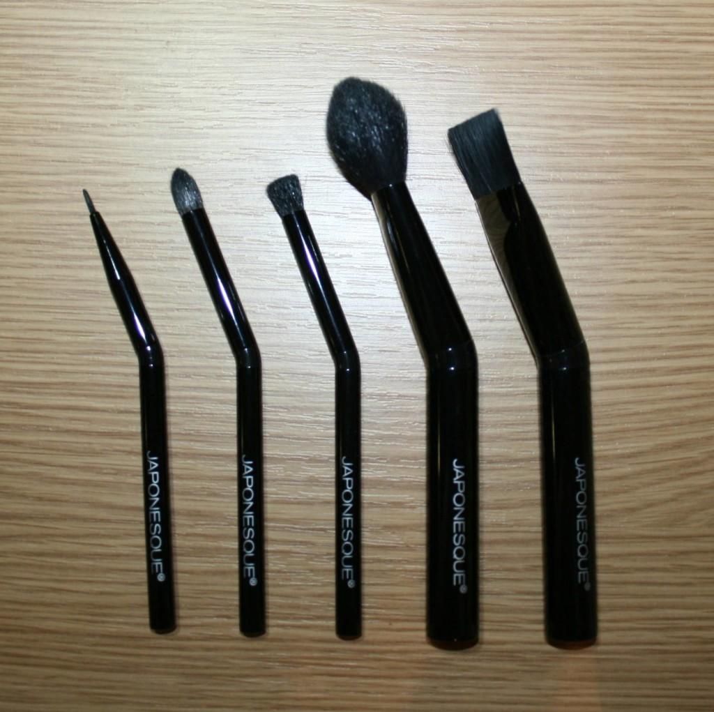 Japonesque Angled Handled Brush Set