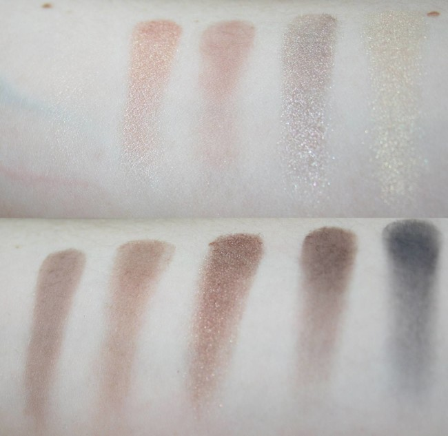 L'Oreal La Palette Nude in Beige Swatches