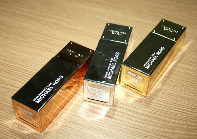 Michael Kors Gold  Fragrance Collection Review