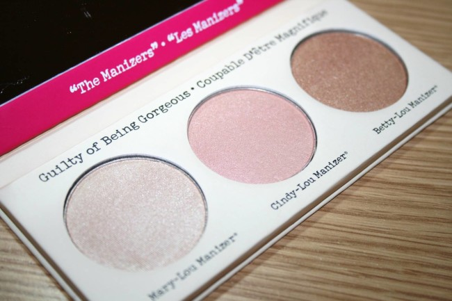 The Balm Manizer Sisters Luminizers Palette Reviews