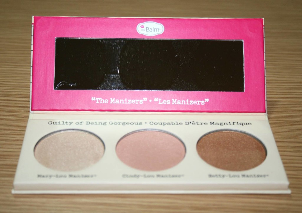 The Balm The Manizer Sisters Luminizers Palette