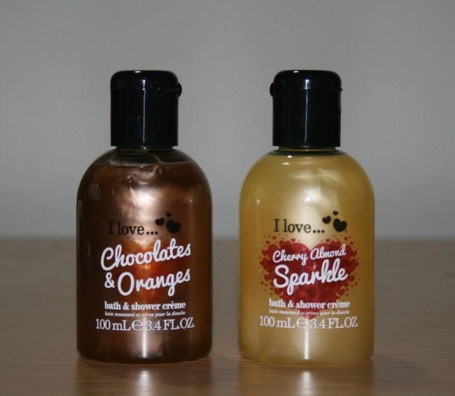 I Love Almond Cherry Sparkle, Chocolates and Oranges