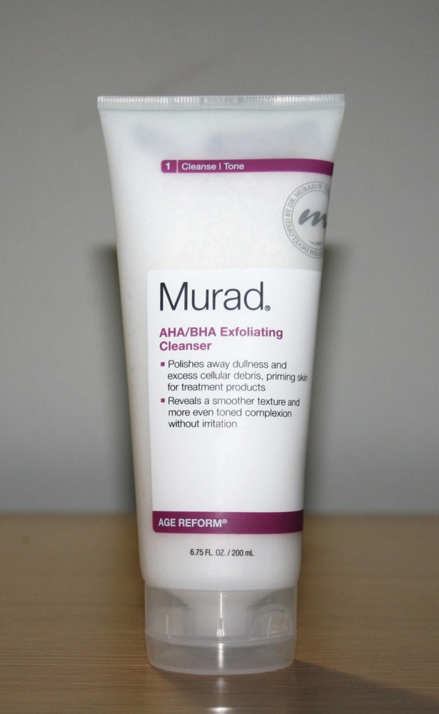 Murad AHA BHA Exfoliating Cleanser Review