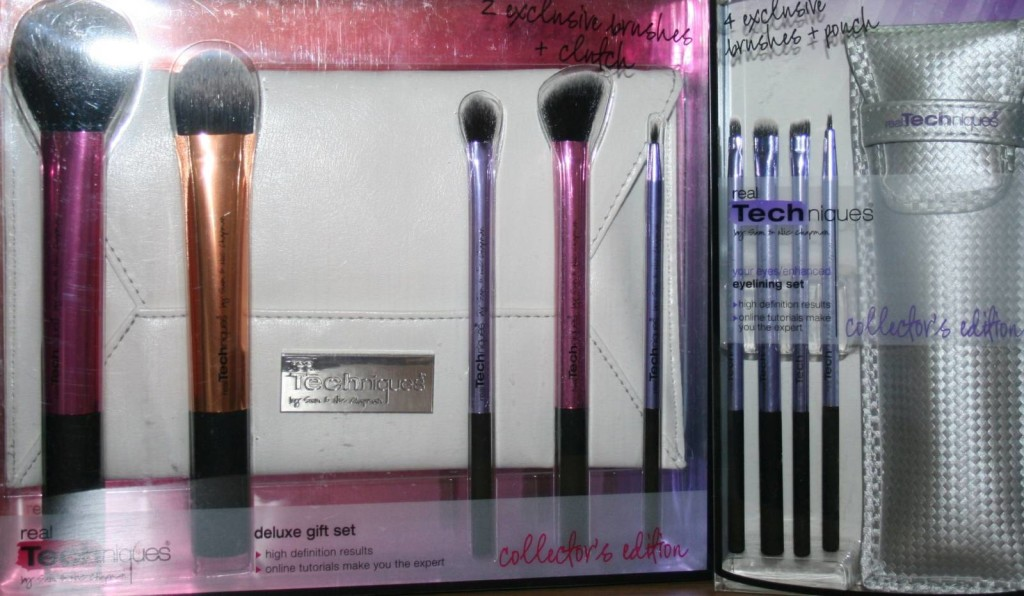 Real Techniques Collector's Edition Sets: Eyelining Set and Deluxe Gift Set