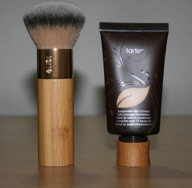 Tarte Amazonian Clay Foundation With Brush And Pressed