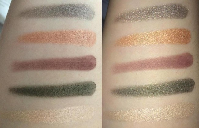 The Balm In The Balm of Your Hand Greatest Hits Palette Eyeshadow Swatches