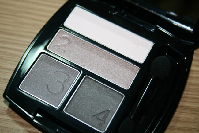 Avon True Colour Eyeshadow Quad in Stone Taupes Review