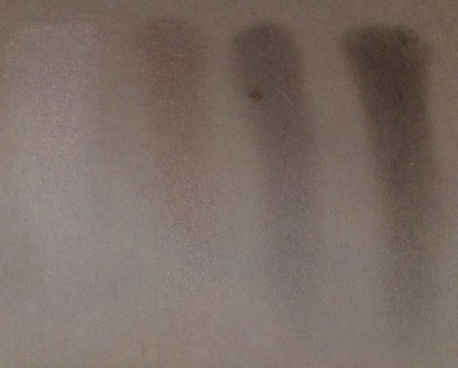 Avon True Colour Eyeshadow Quad in Stone Taupes  Swatches and Review