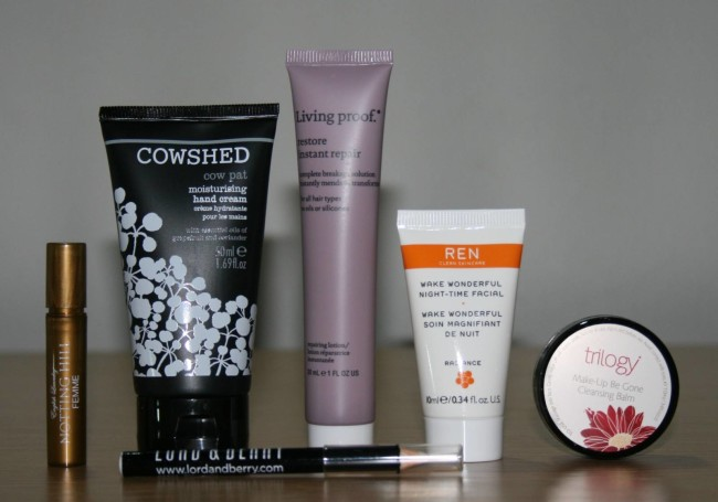 Birchbox November 2015 Contents Review