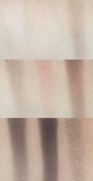 Bobbi Brown Sterling Nights Eye Palette Swatches