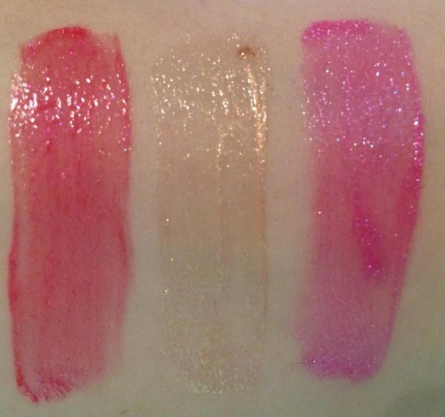 Sleek Glitter Me Lipgloss Swatches