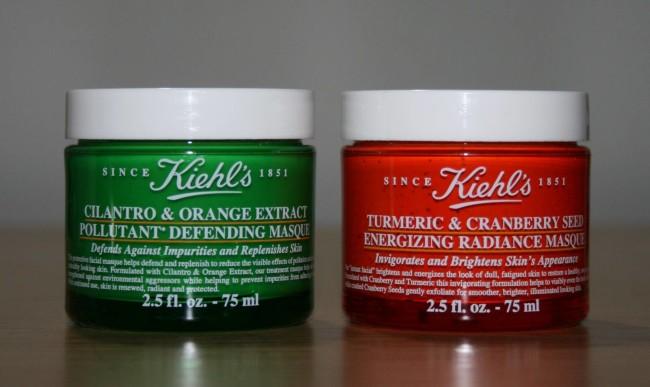 Turmeric & Cranberry Seed Energizing Radiance Masque and Cilantro & Orange Extract Pollutant Defending Masque