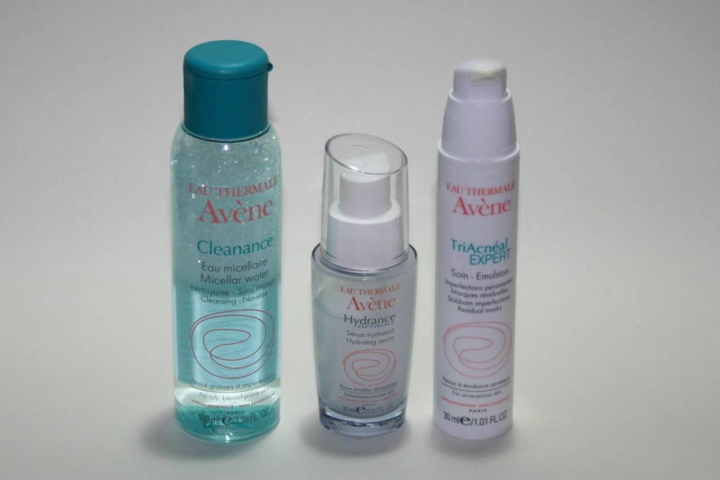 Avene Products for Tricky/Spot-Prone Skin