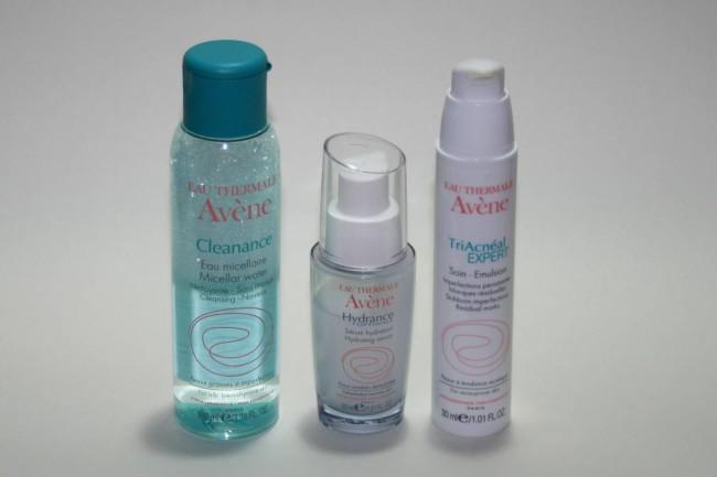 Avene Spot Skincare Routine