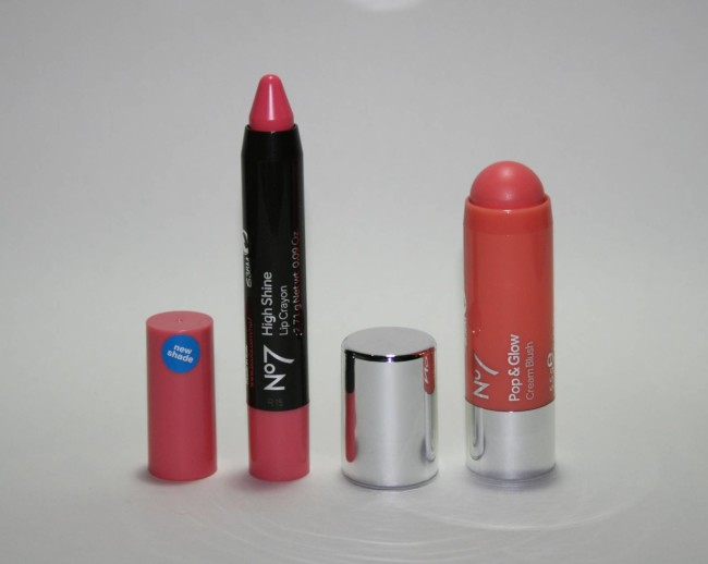 Boots No7 #ColourYourWay Lips and Cheeks