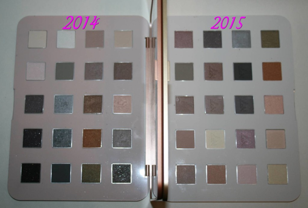 Boots No7 Ultimate Eye Palette – 2014 vs 2015