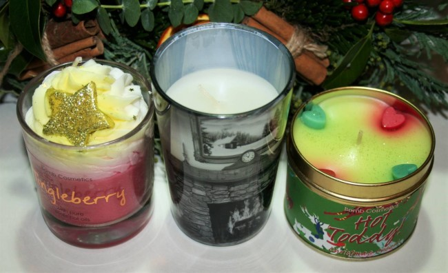 Chirstmas Candles 2015 Air Wick Bomb Cosmetics