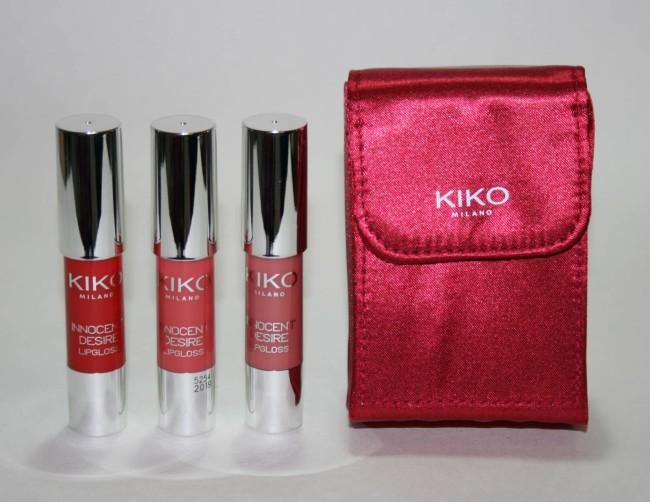 Kiko Lipgloss Set