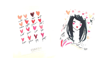 Live Illustrations at Clinique, Covent Garden (London only)