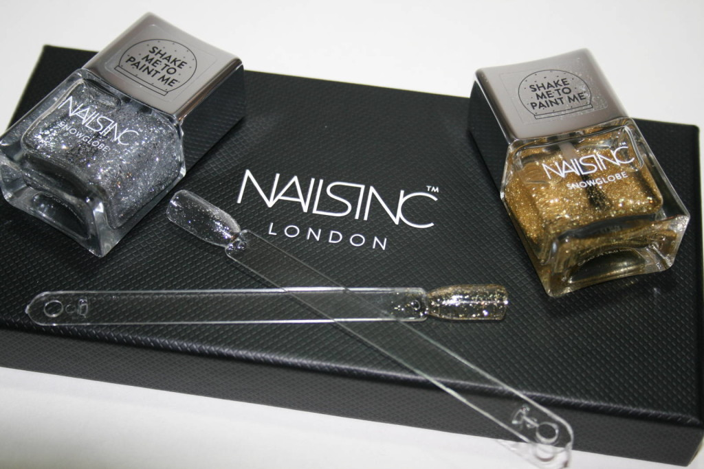 Nails Inc Snow Globes – Silver Road and Globe Walk