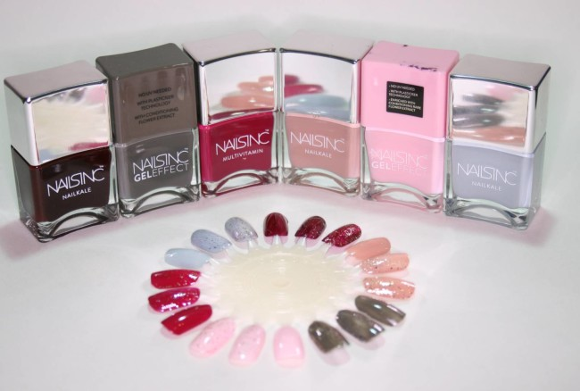 Nails Inc Snow Globes Swatches