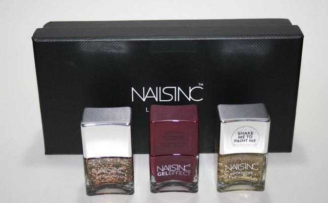 Nails Inc Trio Set