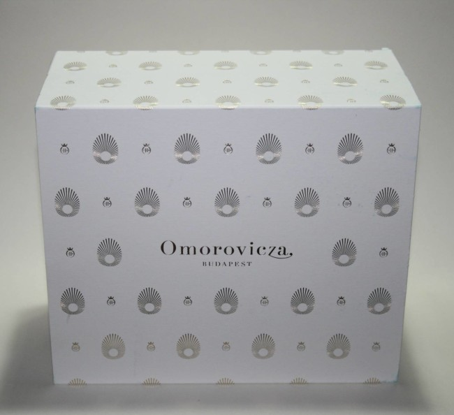 Omorovicza Gold Body Christmas Set Packaging