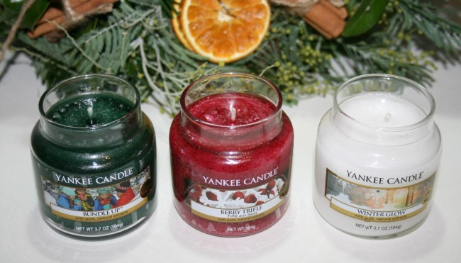 Yankee Candles Christmas 2015