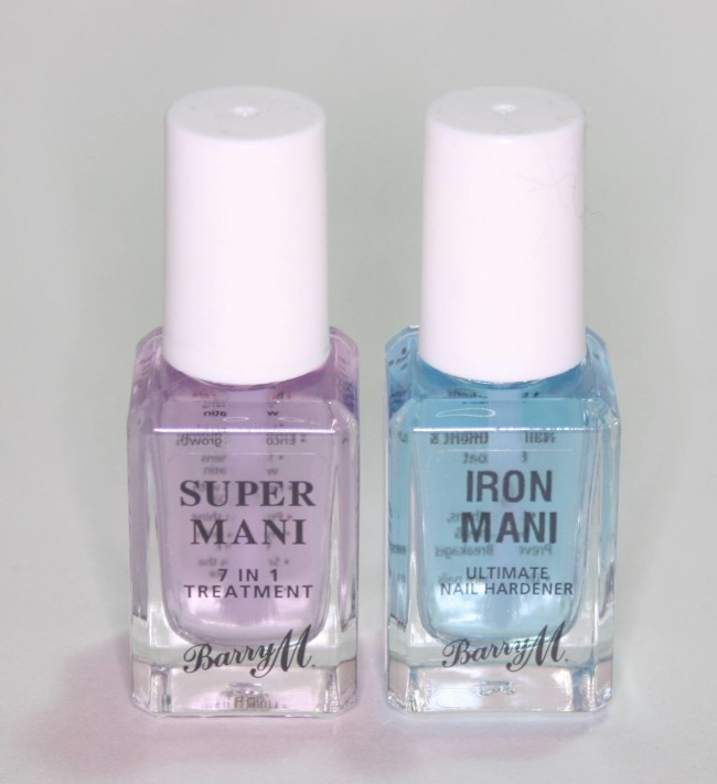 Barry M Super Mani and Iron Mani Review