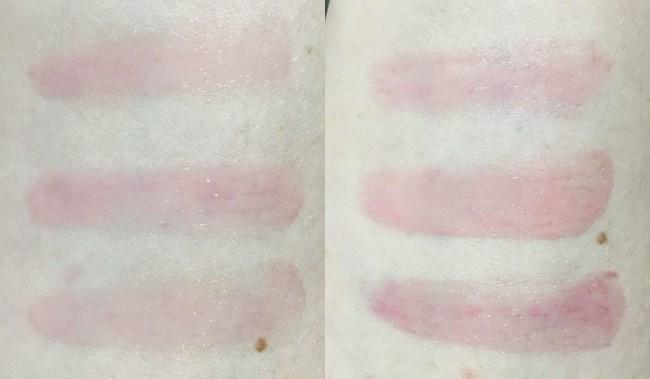Clinique Sweet Pots Sugar Scrub & Lip Balm Swatches
