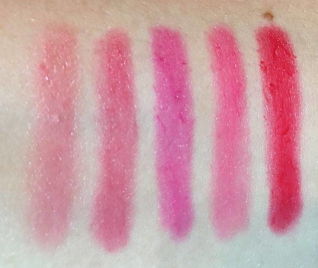 Kiko Campus Idol Urban Sheen Lipglosses Swatches