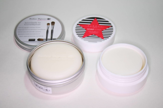 Makeup Brush Soaps - Lottie London and Barbara Hofmann