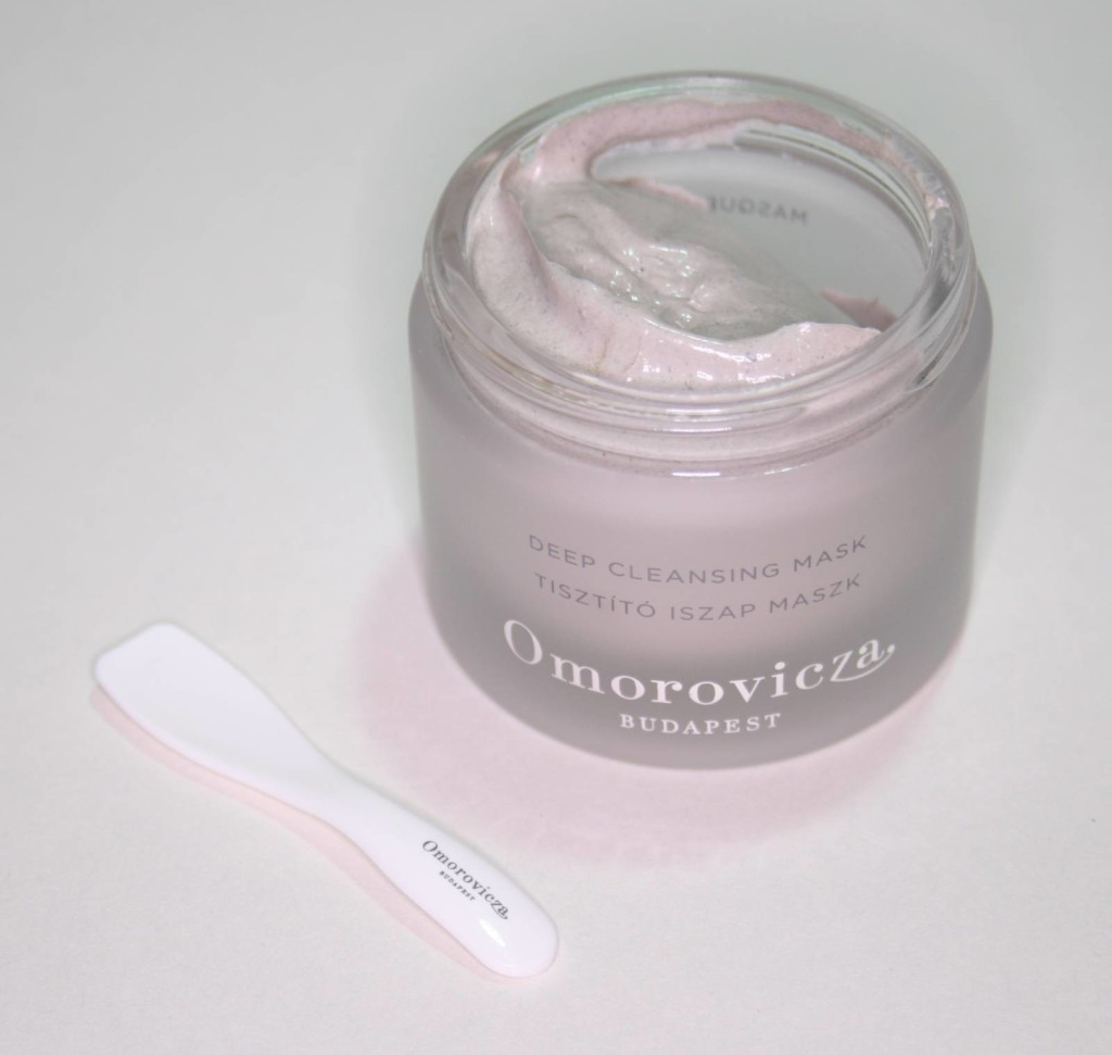 Mask Monday: Omorovicza Deep Cleansing Mask
