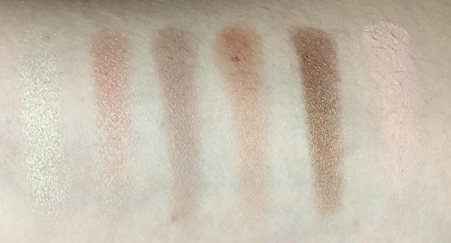 Sleek I-Divine A New Day Swatch Top Row