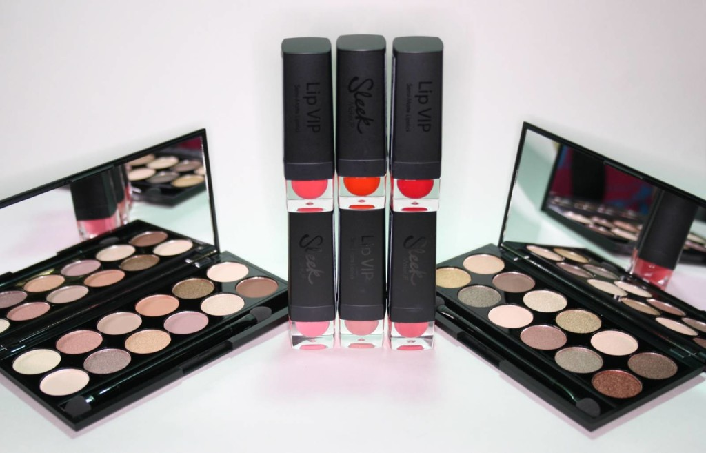 New from Sleek: A New Day and All Night Long I-Divines and VIP Lipsticks