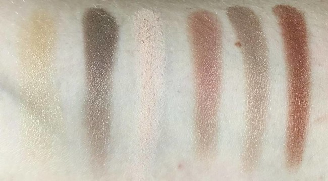 Sleek i-Divine All Night Long Swatches Bottom Row