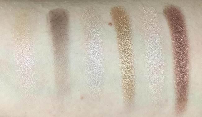 Sleek i-Divine All Night Long Swatches Top Row