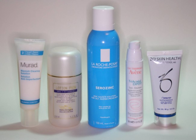 Spot Fighting Skincare - Products that work