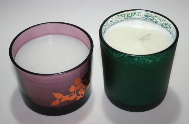 Winter Candles Avon and Arron Aromatics