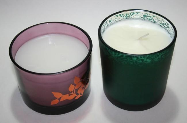 Winter Candles Avon and Arron Aromatics