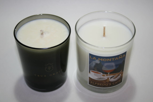 Winter Candles True Grace and La Montana