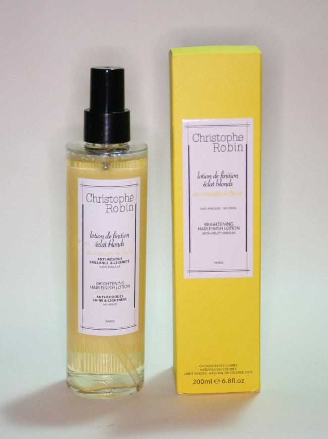 Christophe Robin Brightening Hair Finishing Lotion Review