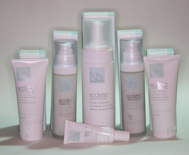 Dr Nick Lowe Acclenz Skincare