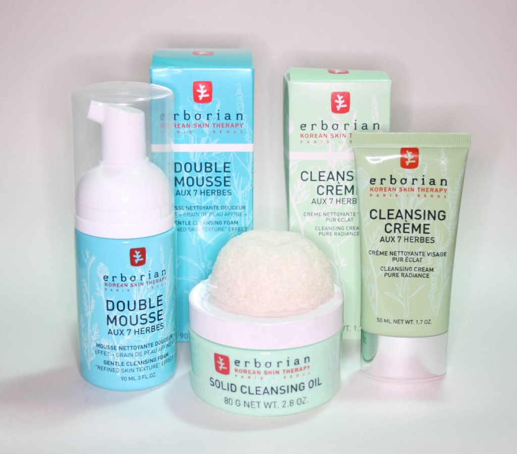 Erborian Triple Cleansing Routine – 1-2-3 Detox Ritual