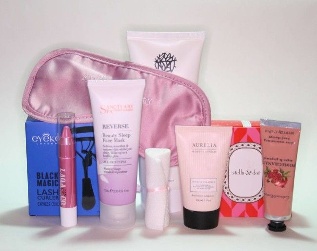Glossybox Spoil Me Silly Limited Edition Mother's Day Box Contents