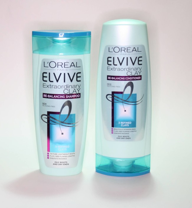 L'Oreal Paris Elvive Extraordinary Clay Rebalancing Shampoo and Conditioner Review