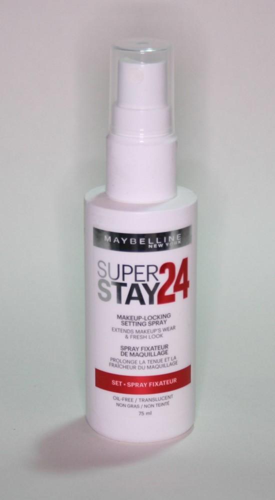 Maybelline Super Stay Make-up Locking Setting Spray