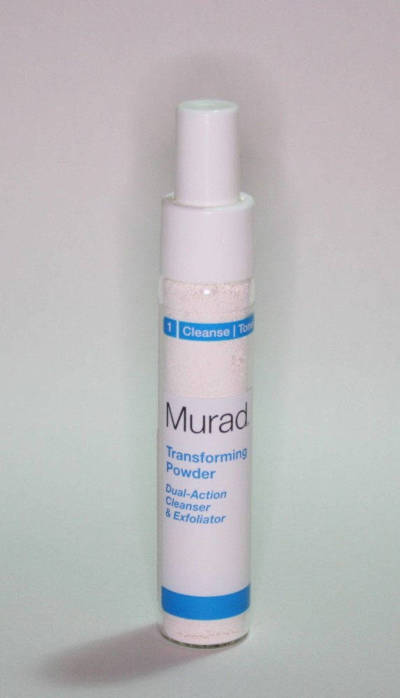 Transforming Powder Dual-Action Cleanser and Exfoliator Review
